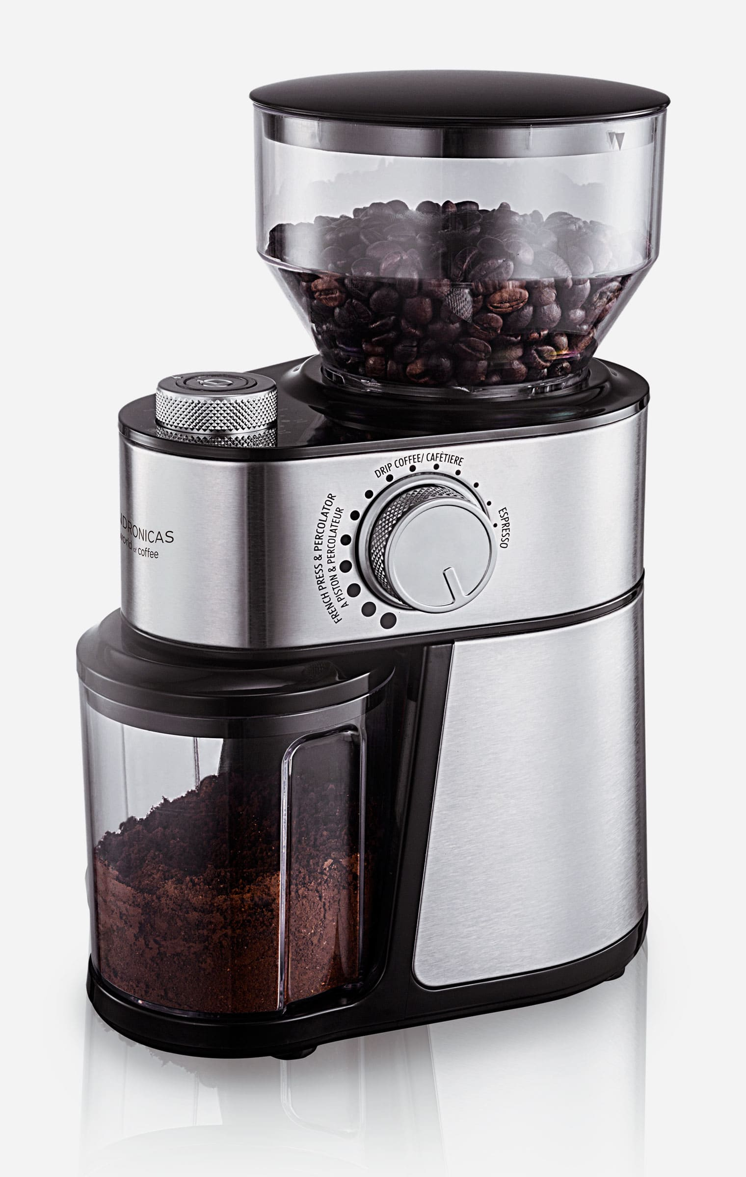 Andronicas Coffee Bean Burr Grinder Machine Andronicas