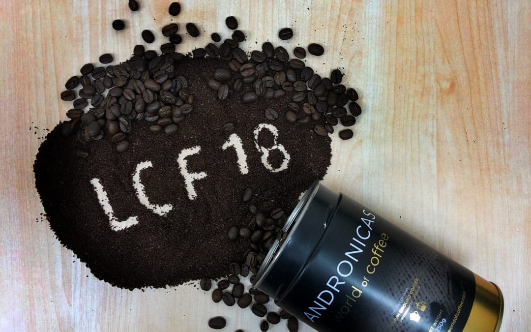 Andronicas to appear at London Coffee Festival 2018